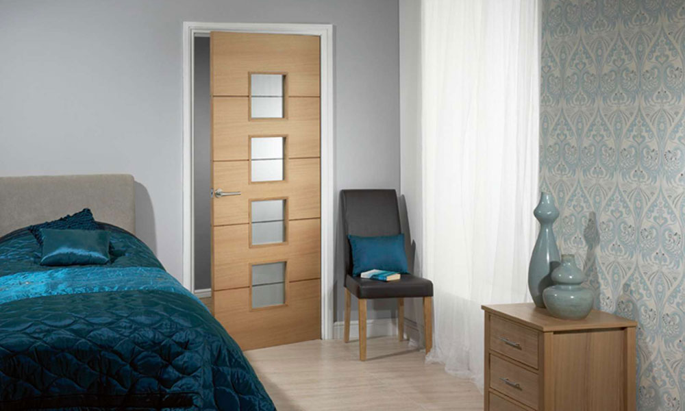 Cheap bedroom doors decor ideasdecor ideas for Bedroom entrance door designs