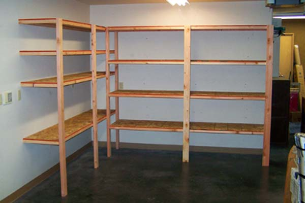 Cheap Garage Shelving Ideas