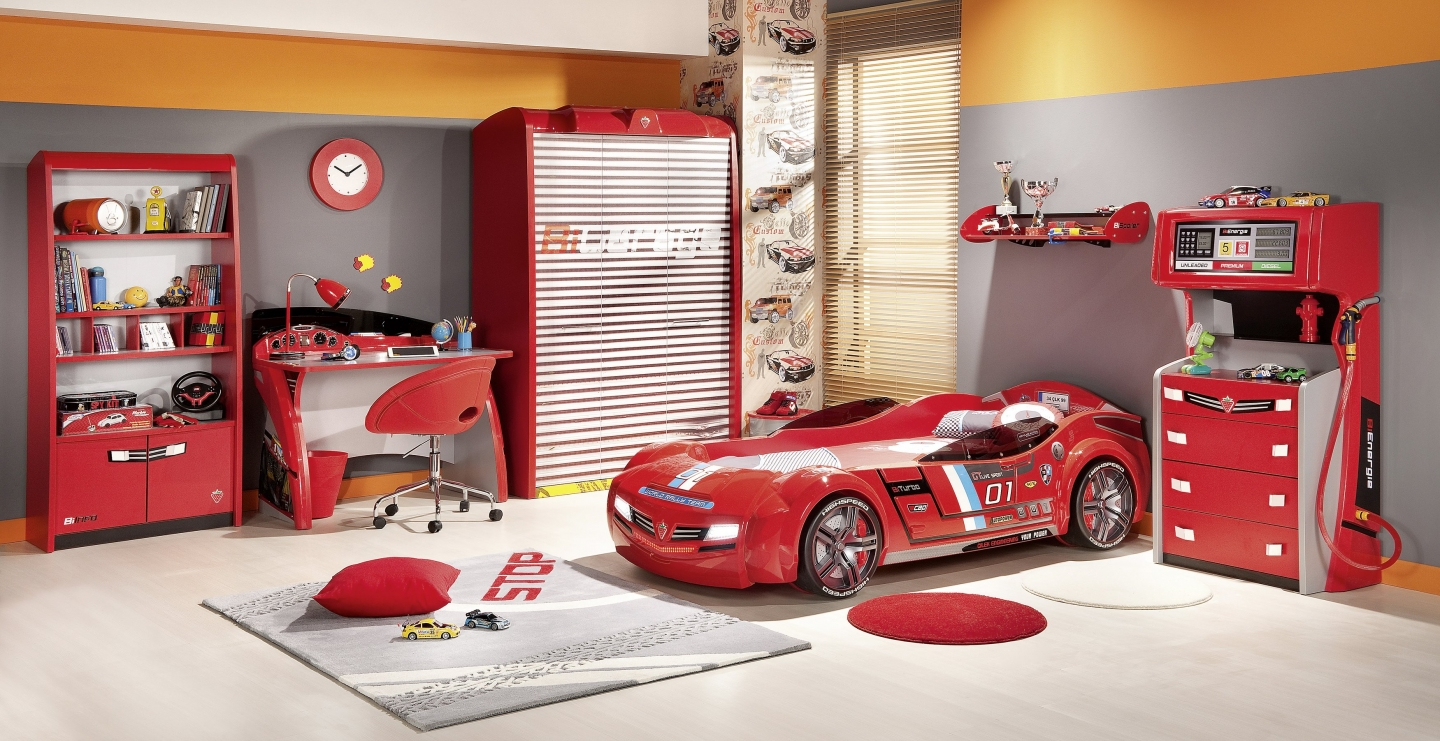 Boys Car Bedroom Furniture 1440 x 741