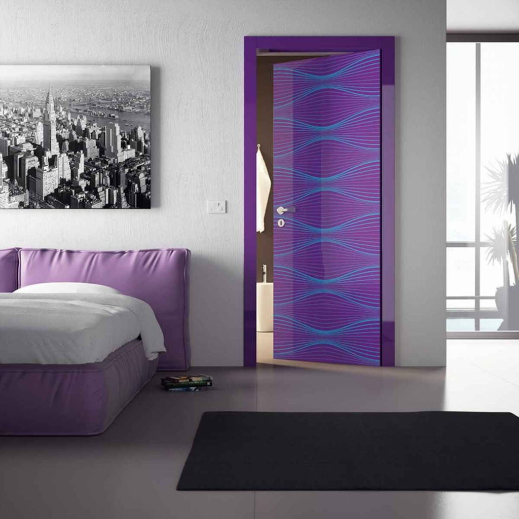 Cool bedroom doors decor ideasdecor ideas for Cool shower door ideas