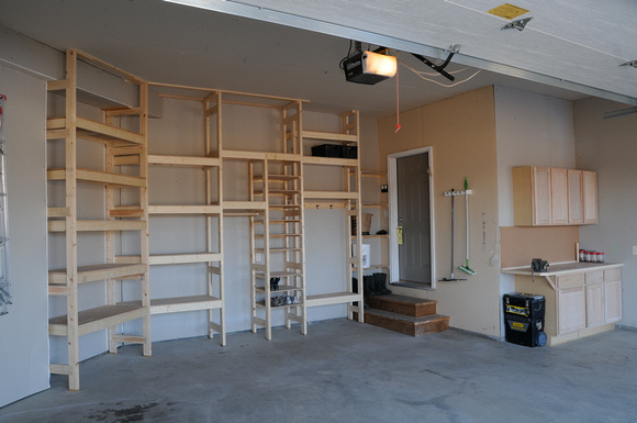 Custom Garage Shelving Decor Ideasdecor Ideas