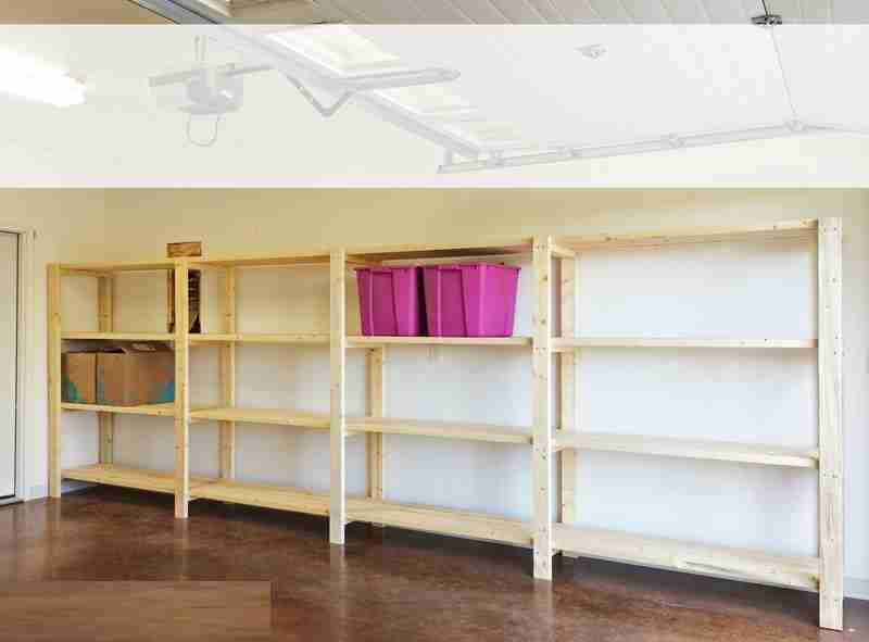 Easy Garage Shelves Decor IdeasDecor Ideas