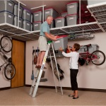 Garage Ceiling Shelving