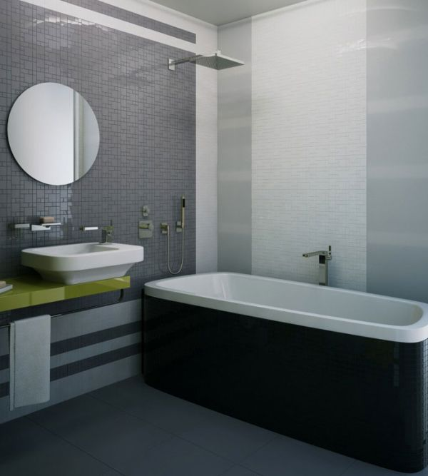 Black White And Grey Bathroom Ideas : Gray black and white bathroom images decor ideasdecor ideas