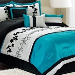 Light Blue Black and White Bedroom Ideas