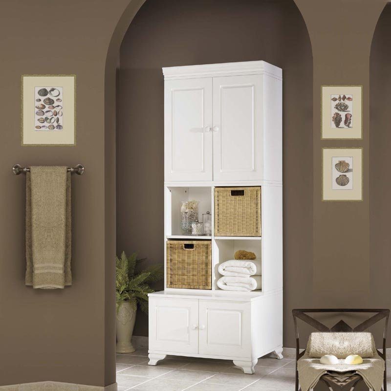 Lowes bathroom wall cabinets decor ideasdecor ideas for Bathroom cabinet ideas photos