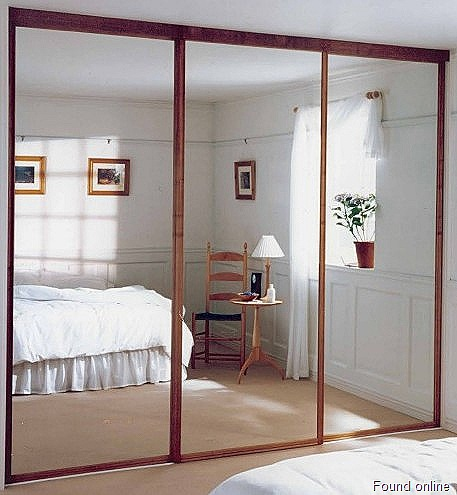 Mirror Sliding Closet Doors For Bedrooms Decor