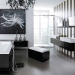 Modern Black and White Bathroom Photos