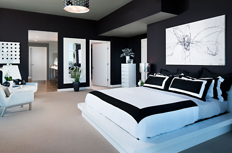 modern black and white bedroom designs decor ideasdecor ideas