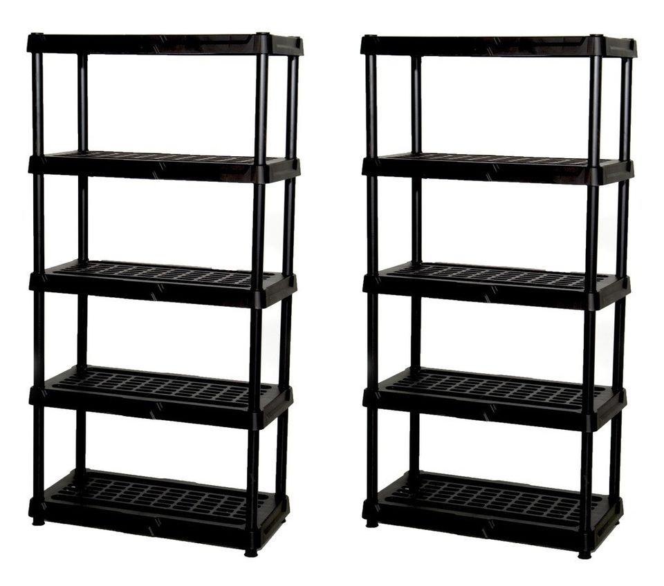 Plastic Garage Shelving