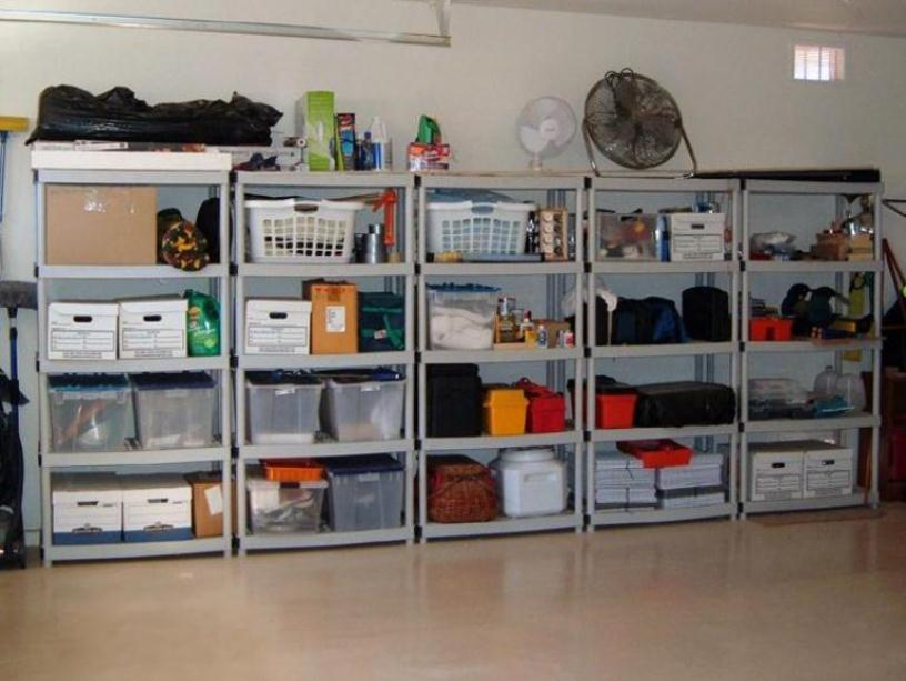 Storage Shelves For Garage Decor IdeasDecor Ideas