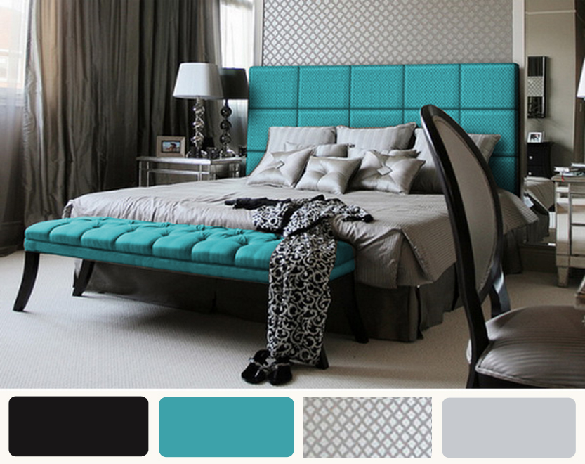 teal black and white bedroom decor ideasdecor ideas