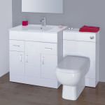 White Bathroom Vanity Units