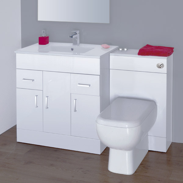 White Bathroom Vanity Units Decor IdeasDecor Ideas