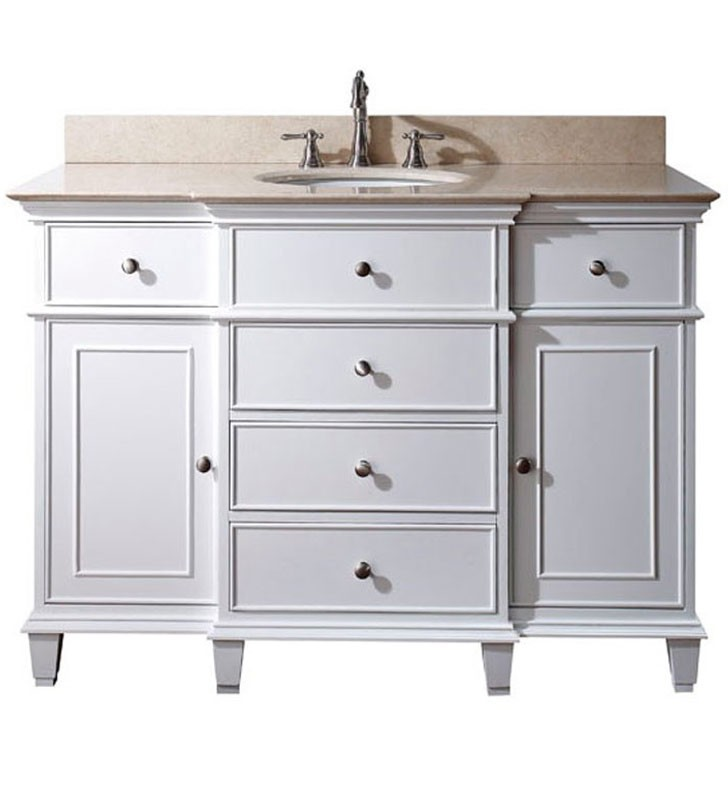 Perfect Avanity Windsor Inches Bathroom Vanity White Decoration