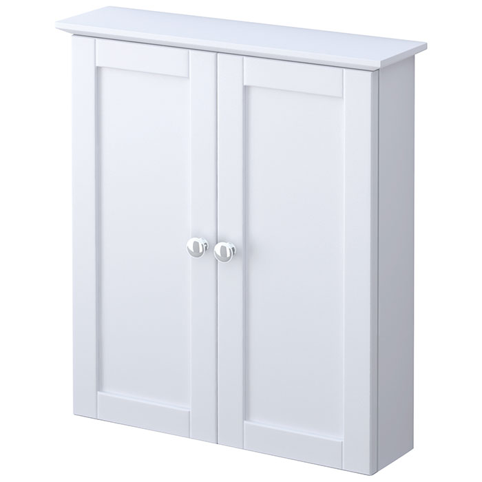 Wonderful Elegant Home Fashions Dawson Shelved Wall Cabinet With Storage Cubbies
