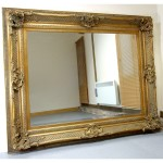 Antique Gold Framed Wall Mirrors