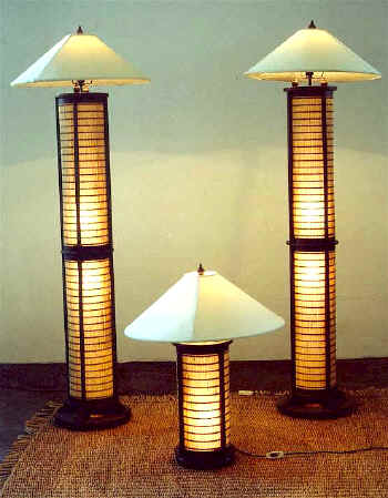 Asian Style Floor Lamps