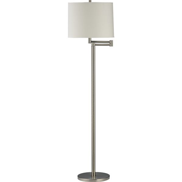 Brushed Nickel Floor Lamp