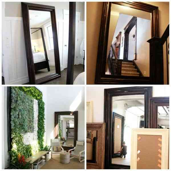 Cheap big wall mirrors decor ideasdecor ideas for Affordable decorative mirrors