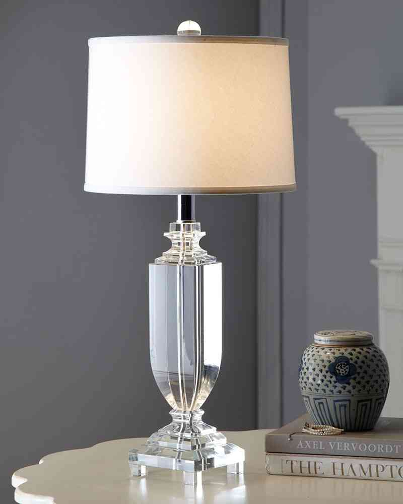 crystal bedroom lamps