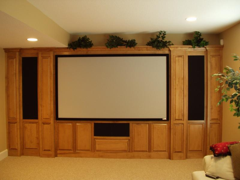 Custom Home Theater Cabinets Decor Ideasdecor Ideas