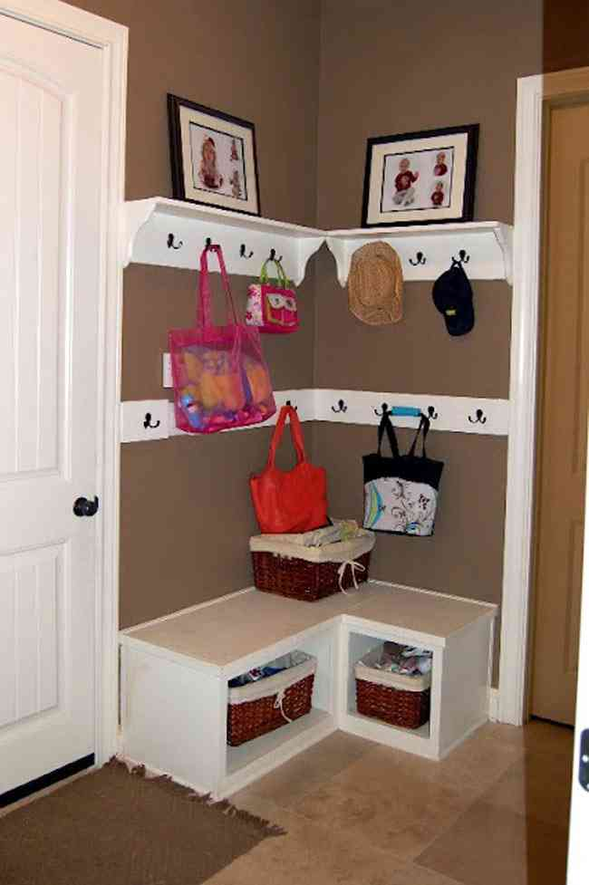 DIY Mudroom Ideas Decor IdeasDecor