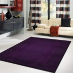 Dark Purple Area Rug