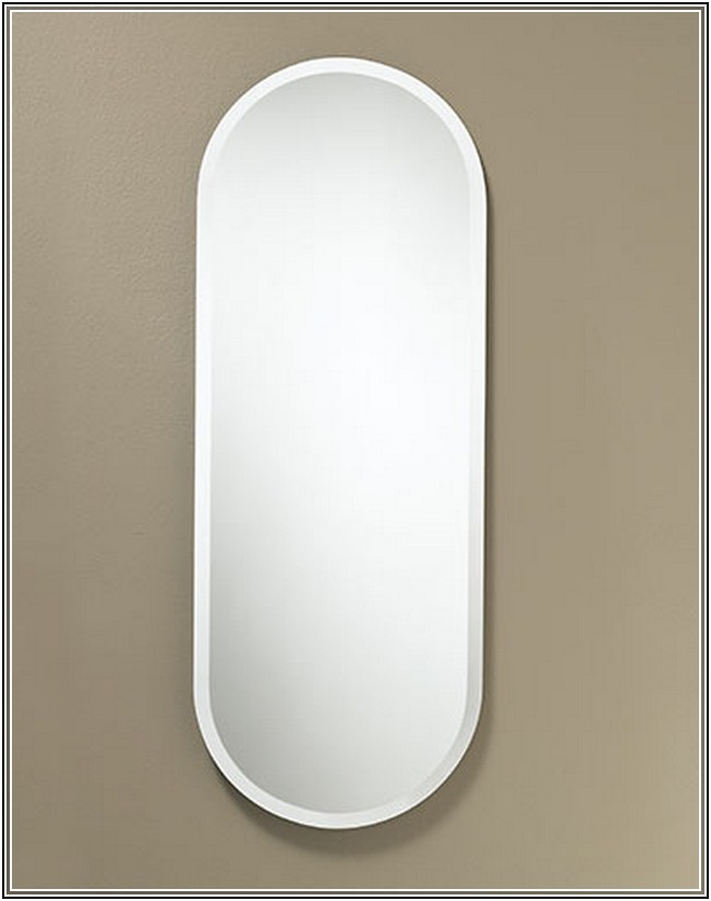 Frameless full length wall mirror decor ideasdecor ideas for Decorative full length wall mirrors