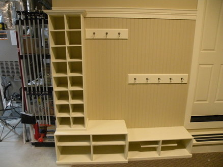 Garage Mudroom Storage