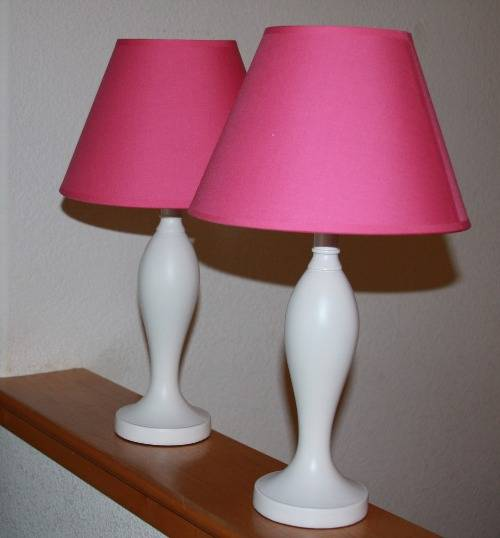 Bedroom lamps for girls