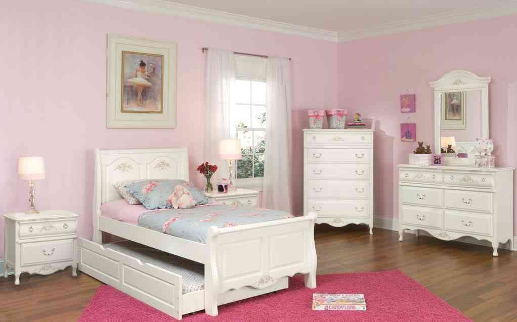 Girls white bedroom furniture sets decor ideasdecor ideas for Girls white bedroom furniture