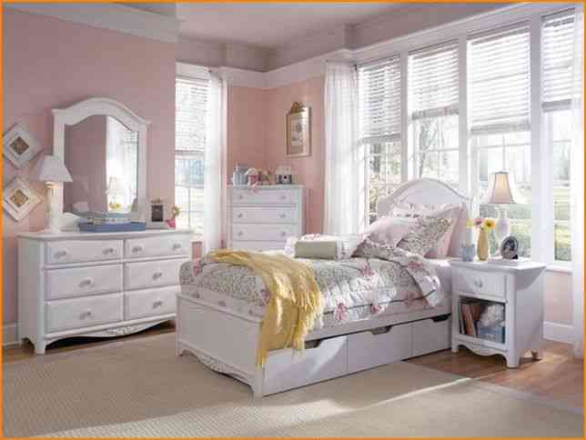 Girls white bedroom set decor ideasdecor ideas for Girls white bedroom furniture