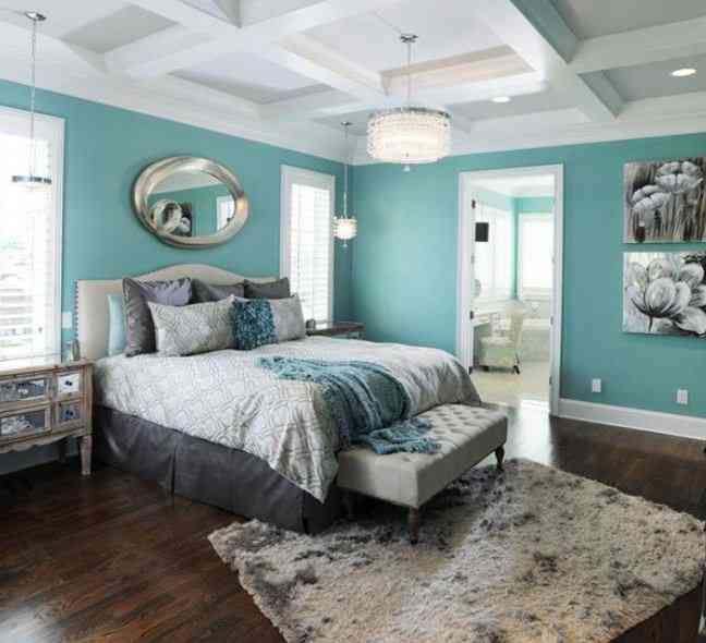 teal bedrooms submited images