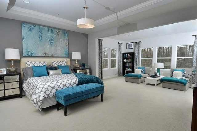 Grey And Teal Bedroom Decor IdeasDecor Ideas