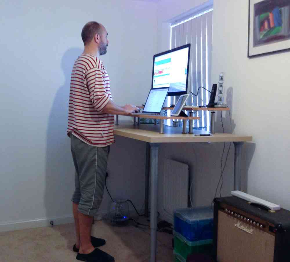 astounding digital imagery is part of Stay Fit With a Standing Desk