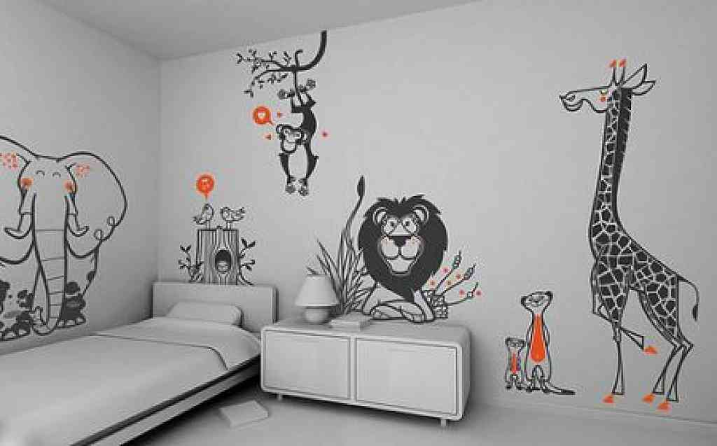 Kids Bedroom Wall Decor