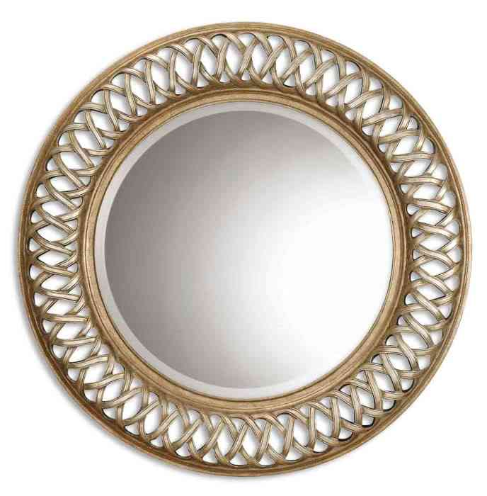 Large Round Wall Mirror Decor IdeasDecor Ideas