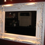 Large White Wall Mirror