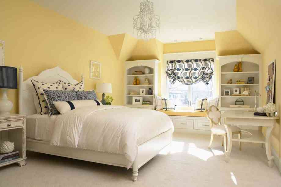 The appealing digital imagery is part of Yellow Bedroom Ideas That ...