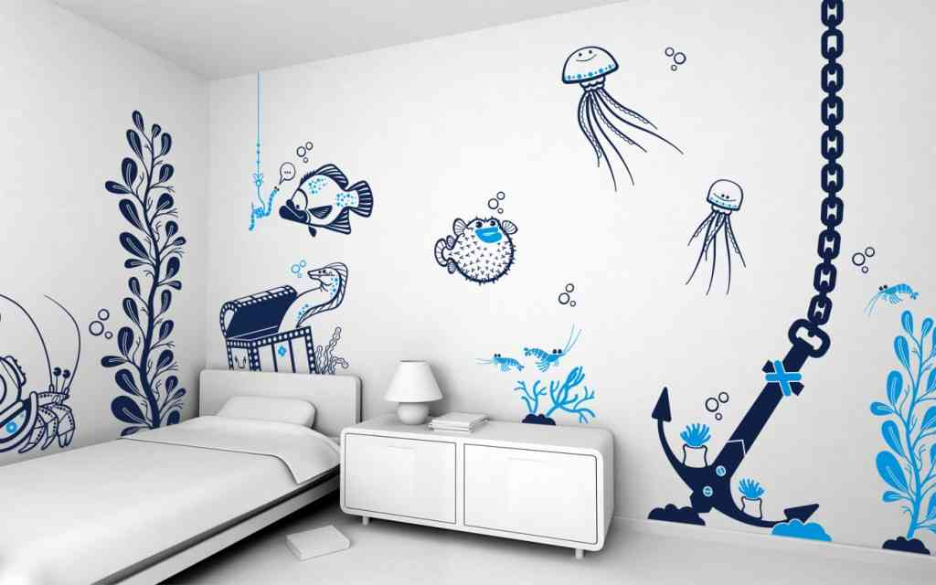 Master bedroom wall decorating ideas decor ideasdecor ideas for Bedroom wall decals