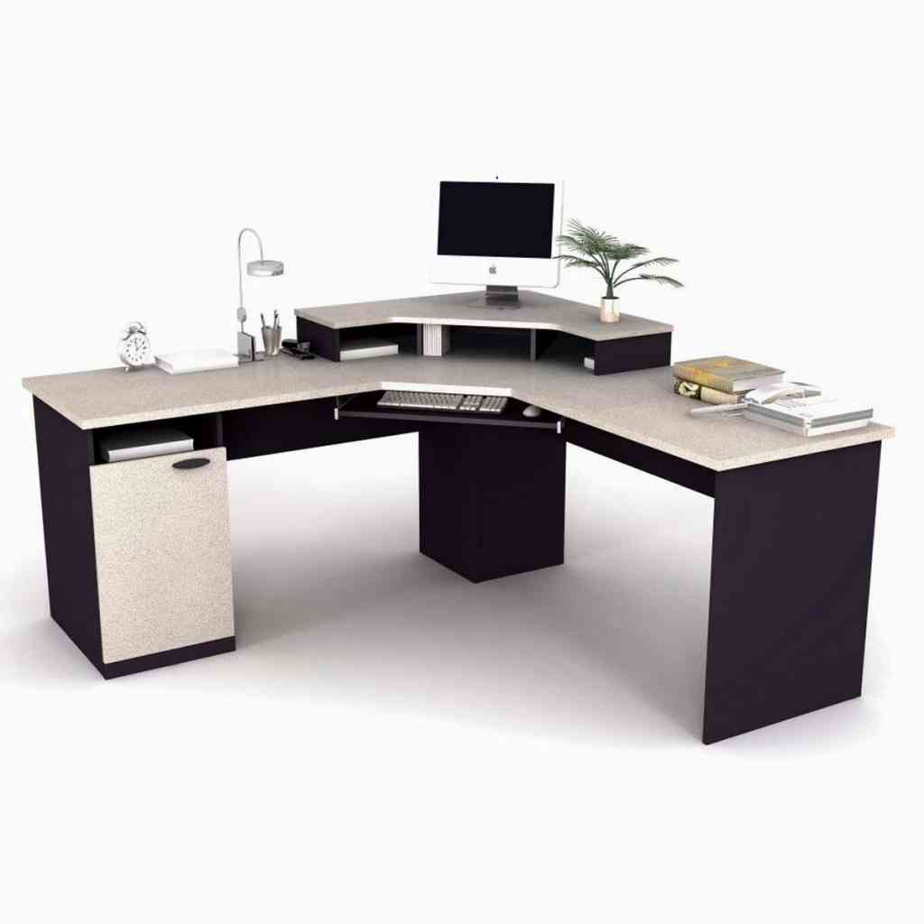 Desk Office Designs Black Corner Home