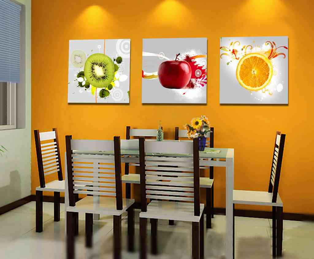 Modern kitchen wall decor decor ideasdecor ideas - Cuadros para el comedor ...