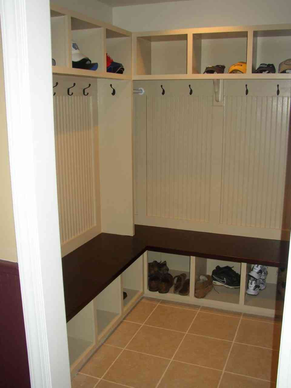 Mudroom Shelves With Hooks Decor IdeasDecor Ideas