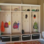 Mudroom in Garage Ideas