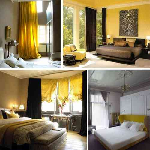 Mustard yellow bedroom decor ideasdecor ideas - Decorating with mustard yellow ...