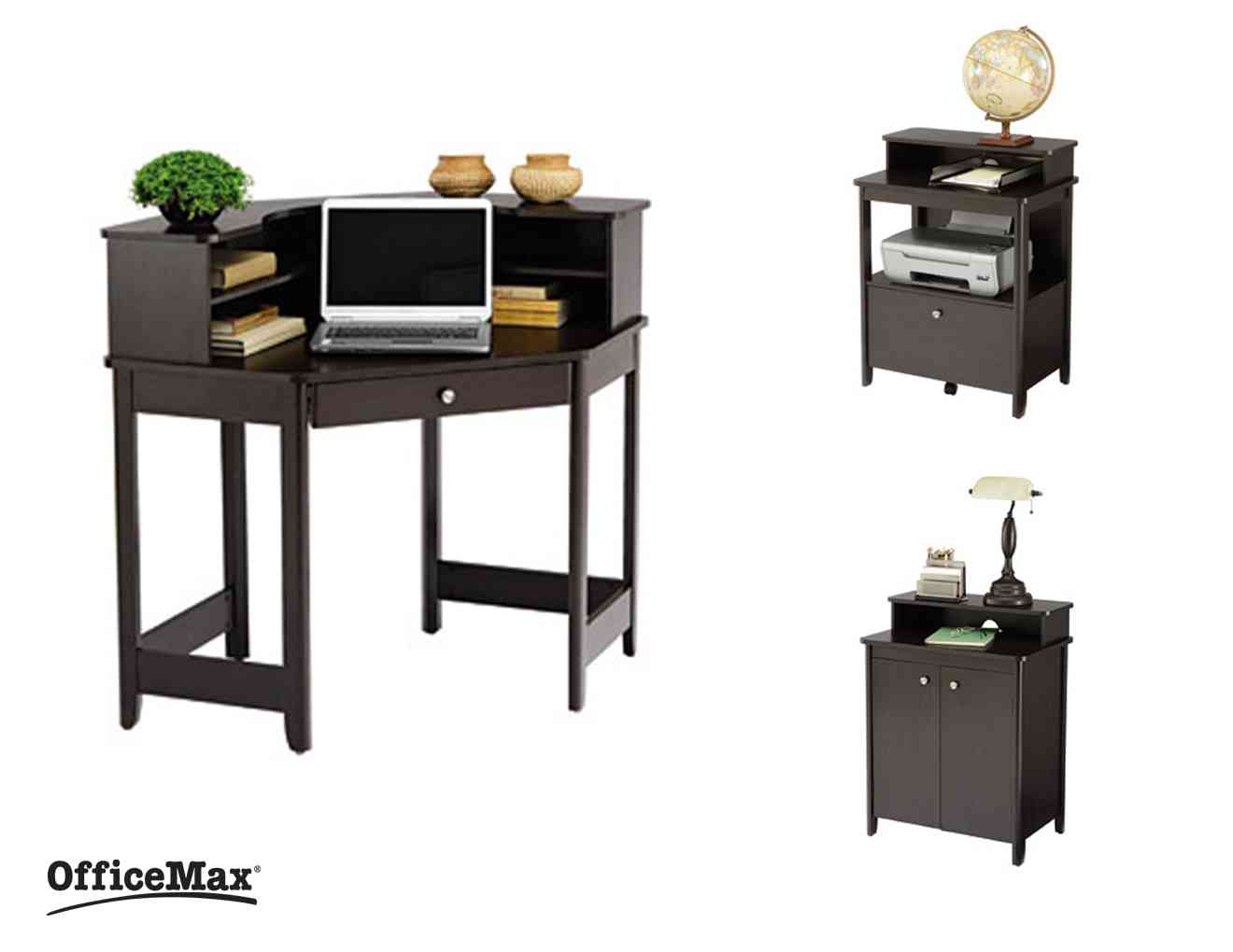 Ergonomic Chairs additionally Minimalist Executive Desks likewise Ameriwood Altra Pursuit Executive Desk NaturalGray furthermore Glass Desk Office Design moreover puter Desks For Sale. on executive desk officemax