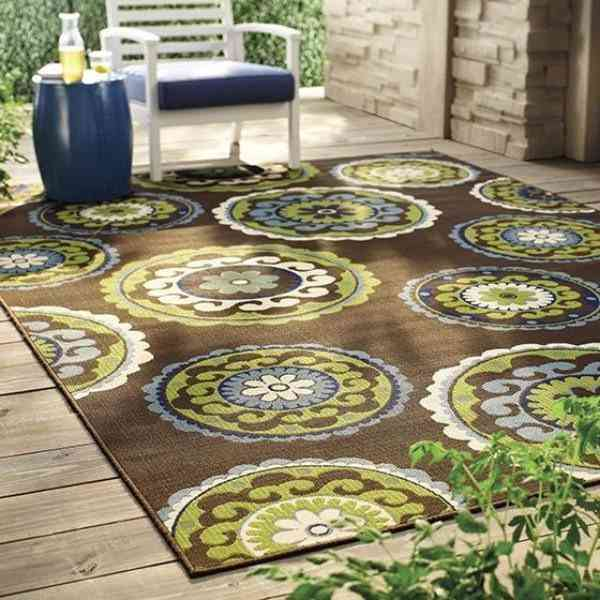 Outdoor Area Rugs Walmart