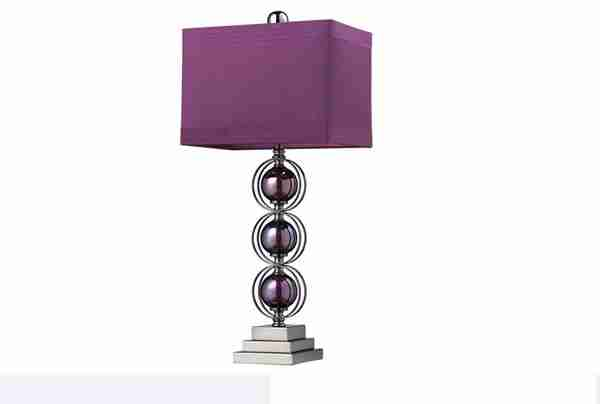 Purple Bedroom Lamps