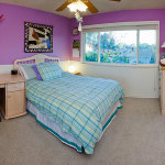 Purple and Teal Bedroom